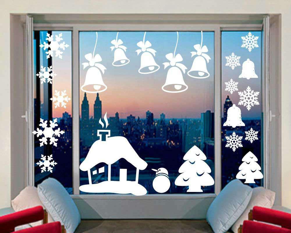 тебя домик на окнах к новому году картинки продают