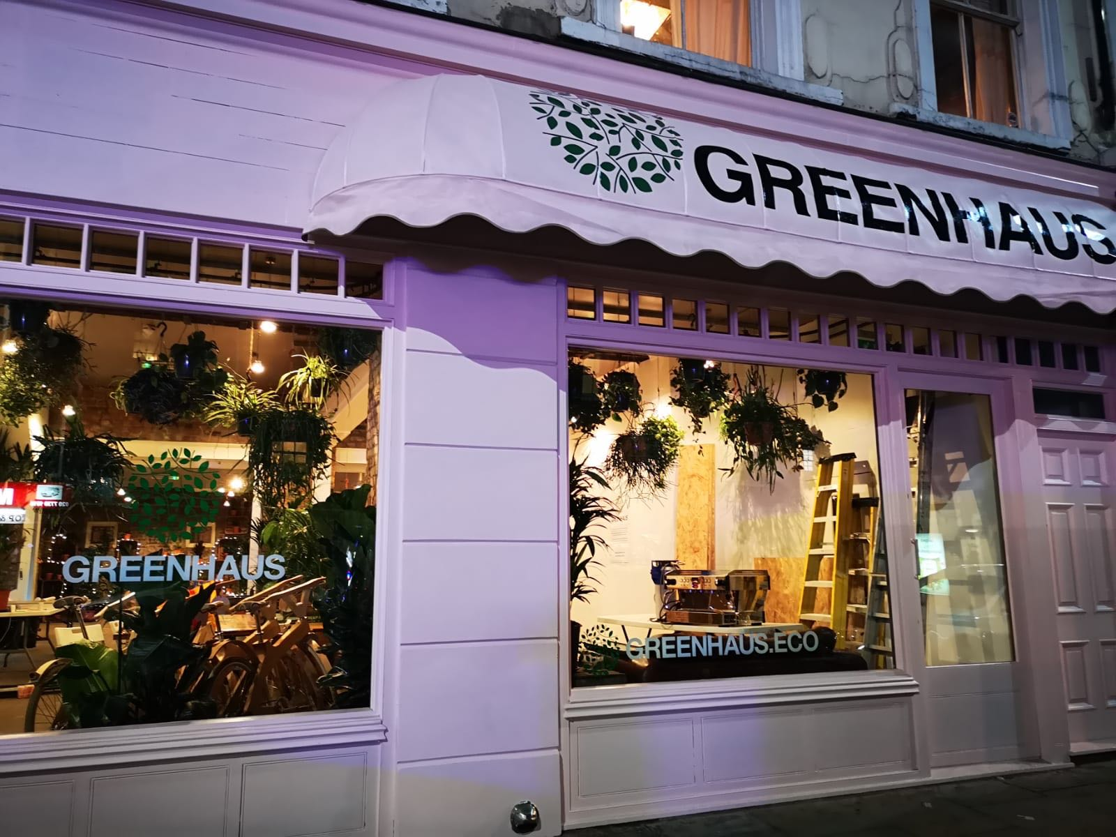 Greenhaus eco store in Shoreditch