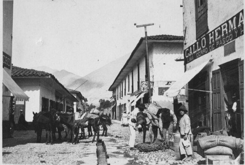 Серро-де-Паско в 1900-е