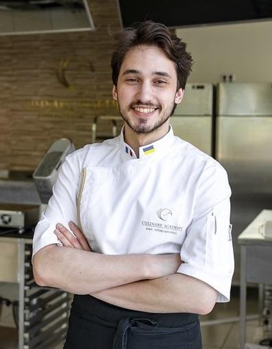 pastry chef Alexandr Trofimenkov