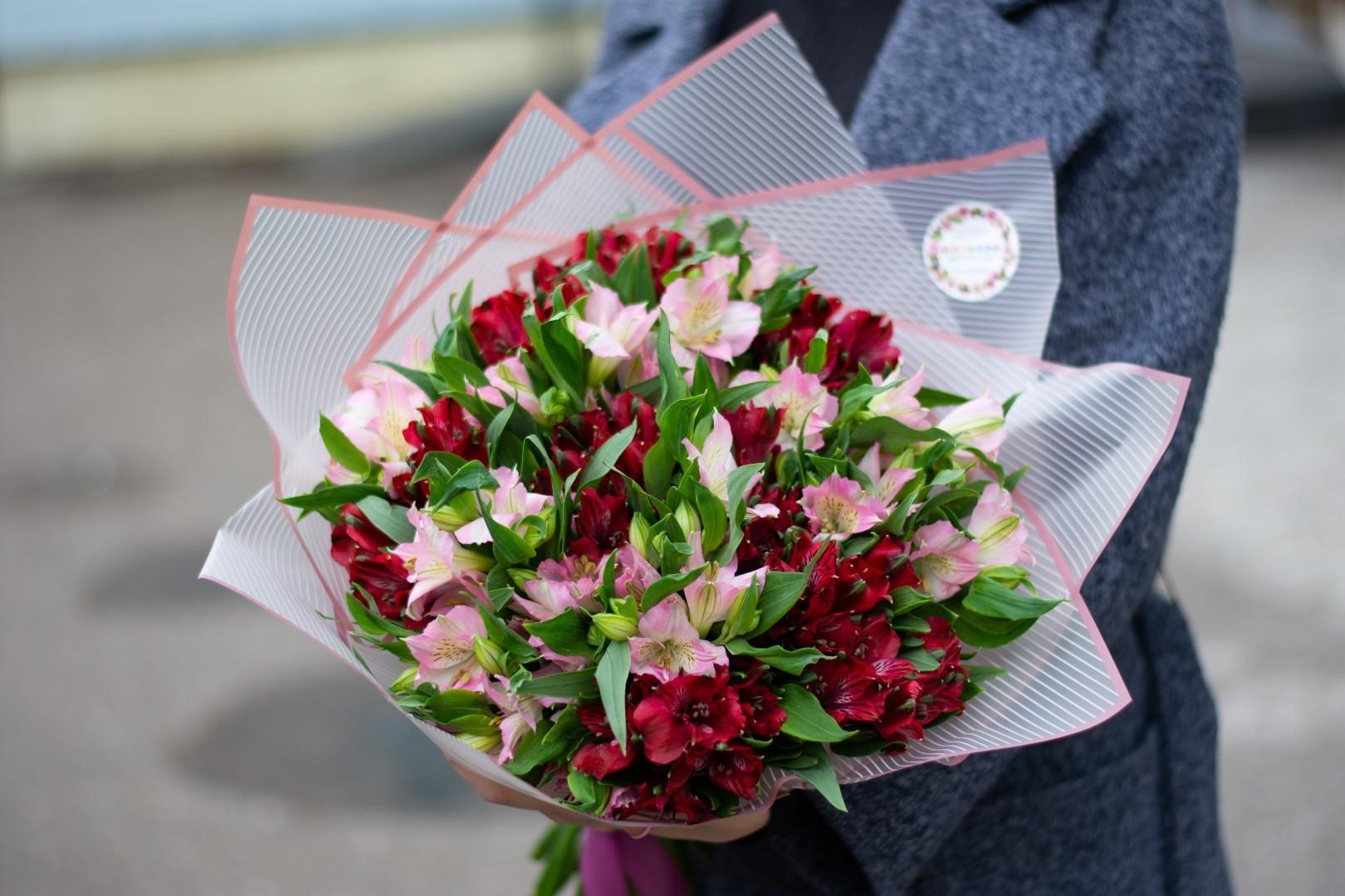 Цветы альстромерия в букете значение, букеты цветов