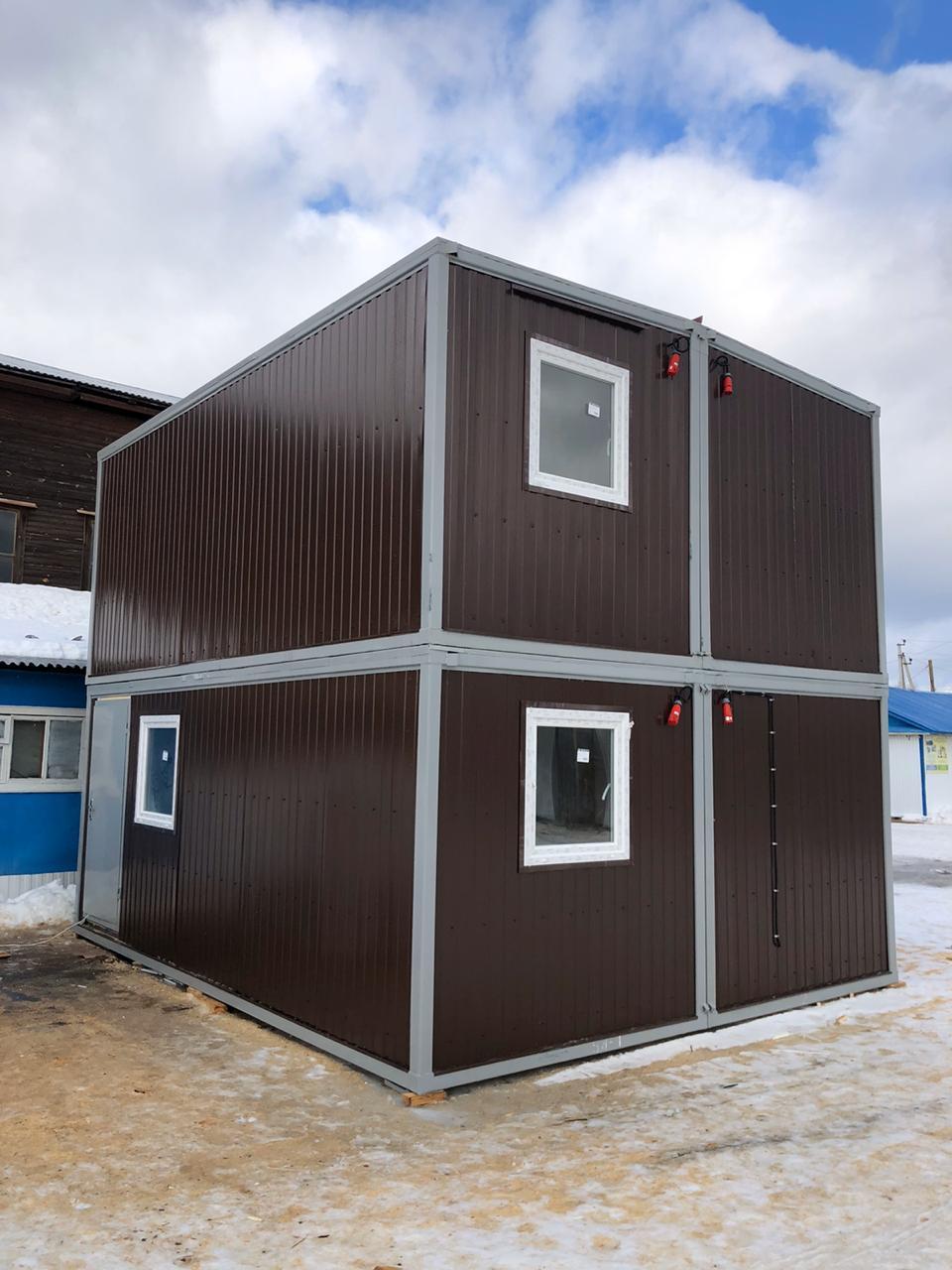 Типы модульных зданий