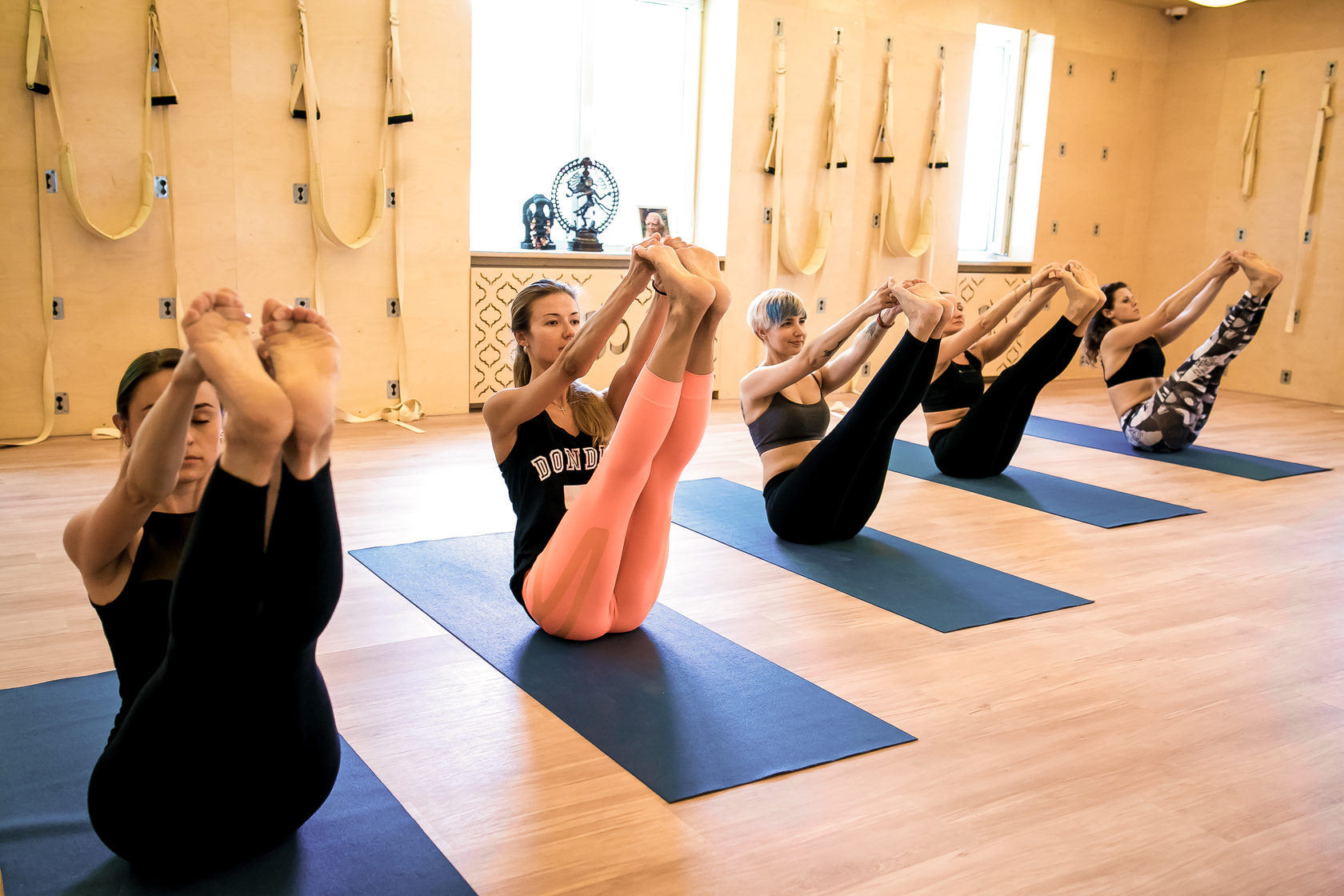 Йога динамическая тренировка Киев