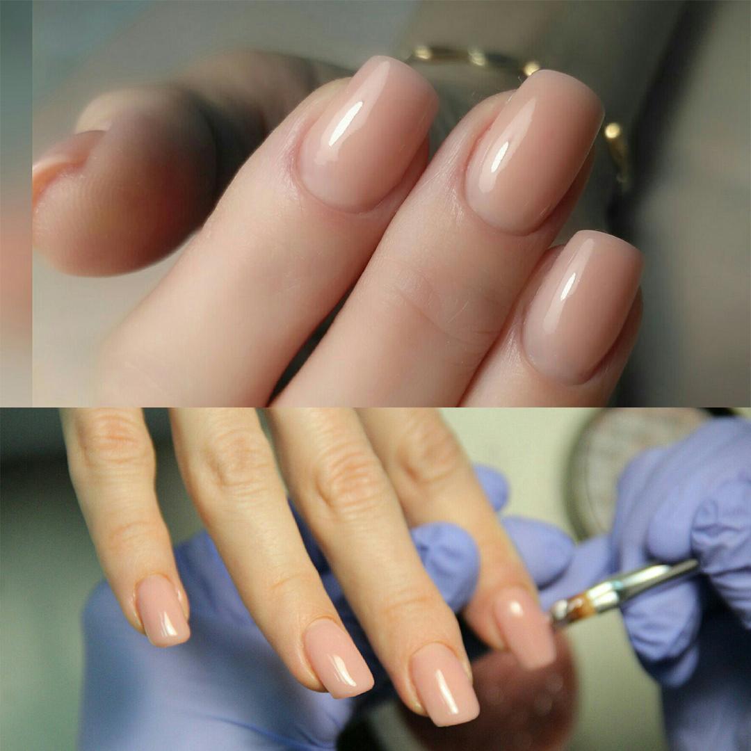 Моделирование ногтей на проблемные ногти фото