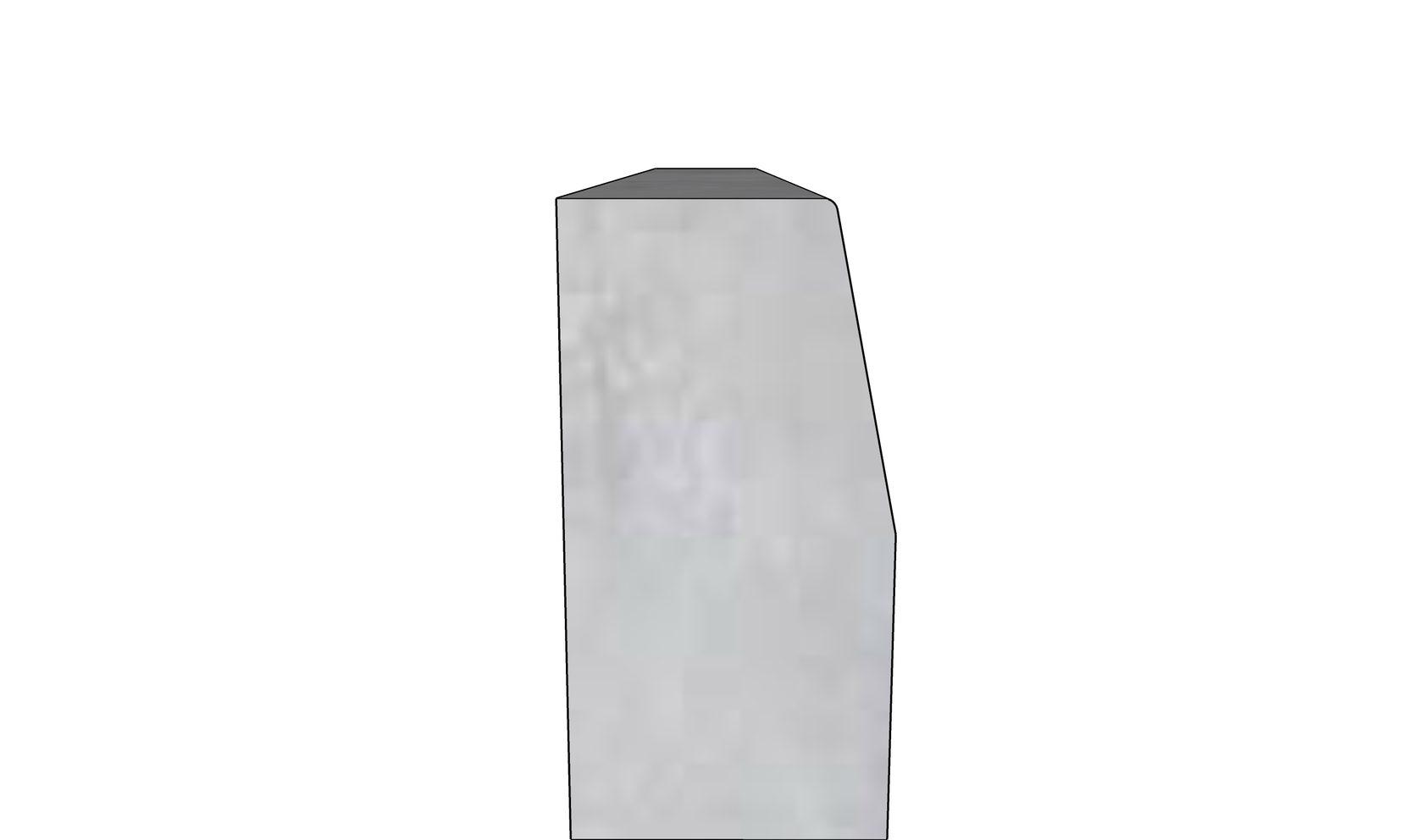 Бордюрный камень БР-100-30-15