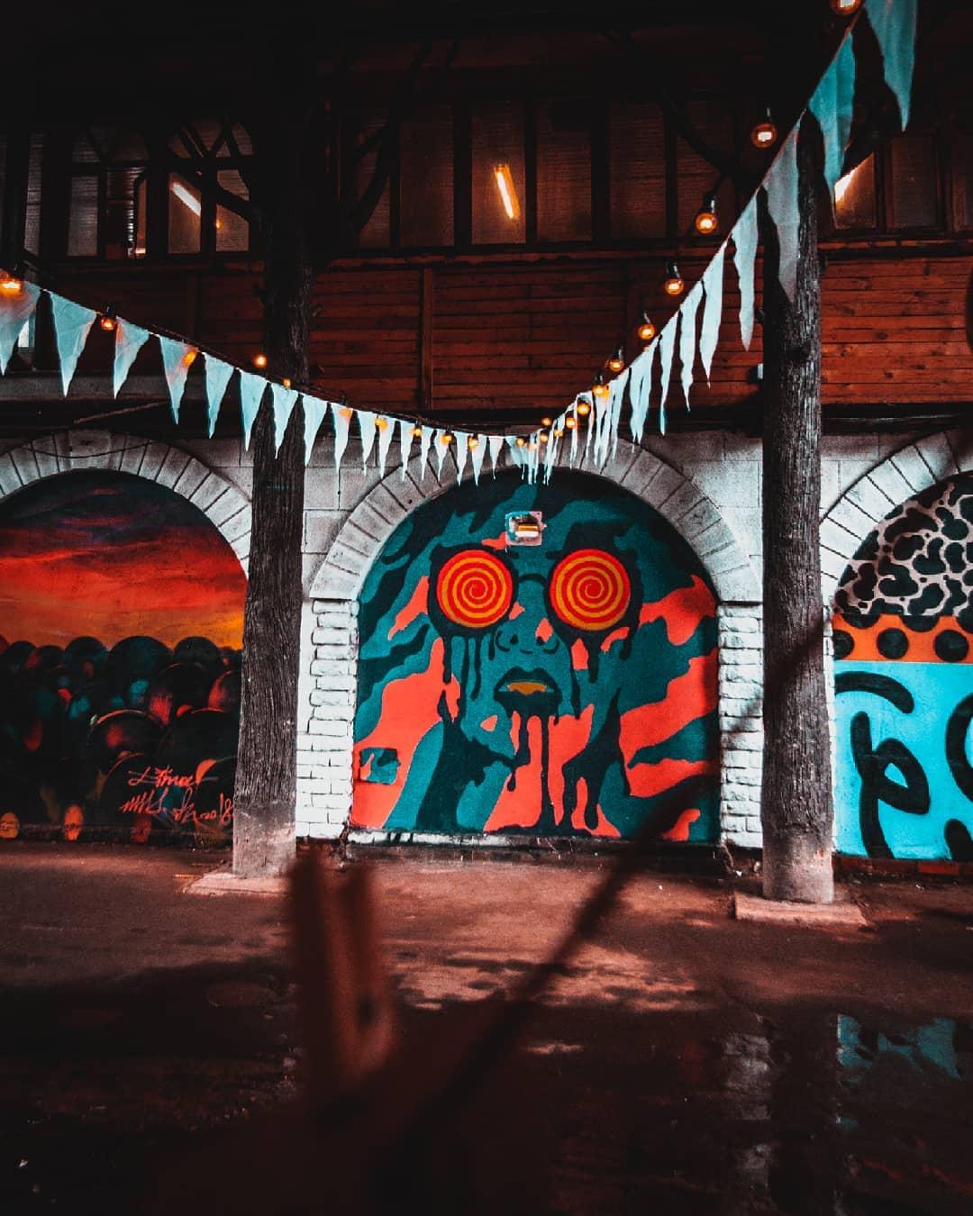 Граффити. Инстаулица