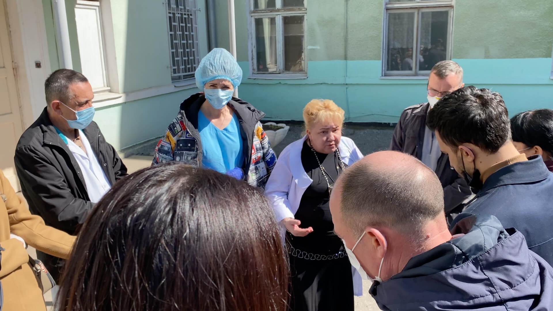 Больница водников против коронавируса