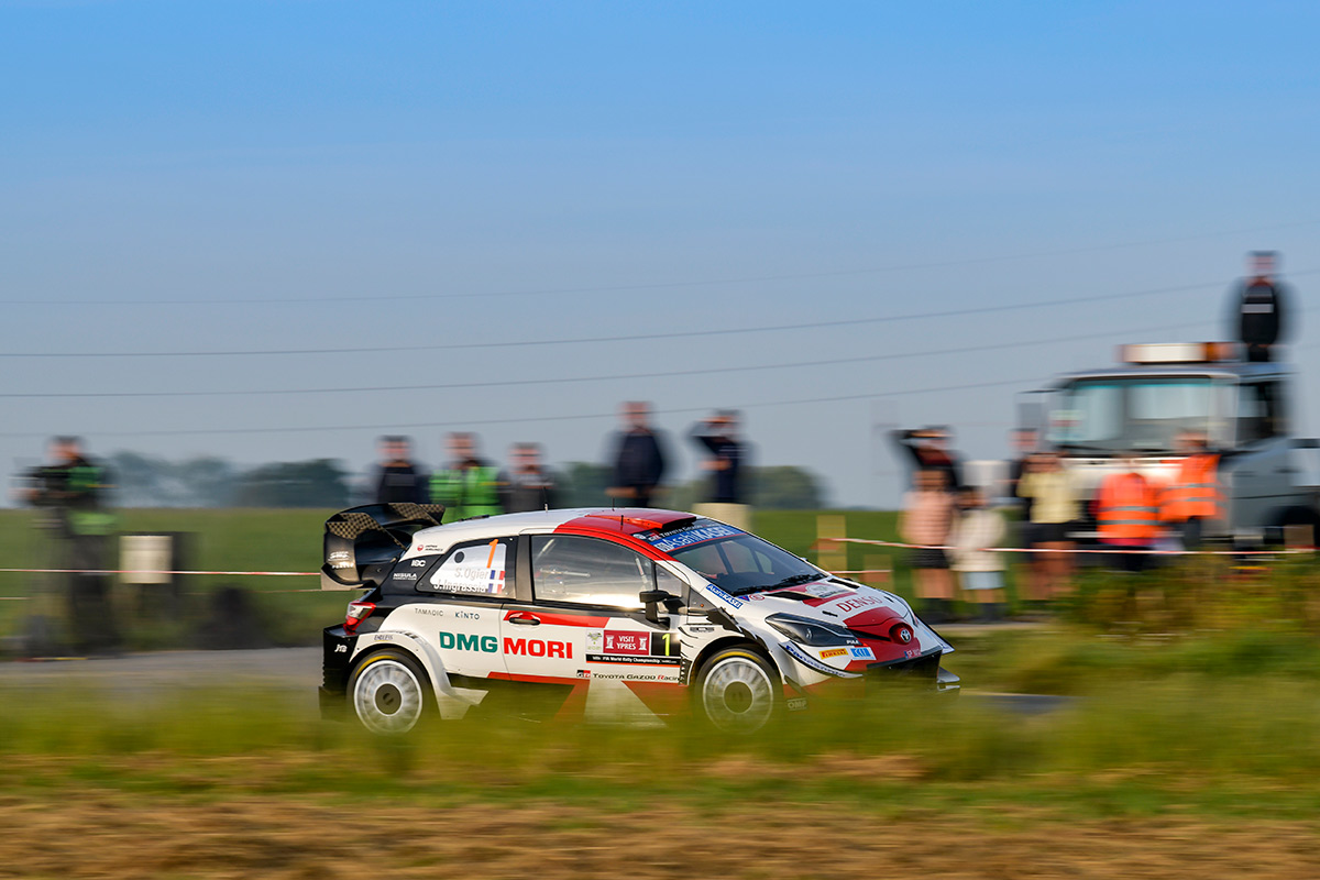 Себастьен Ожье и Жюльен Инграссиа, Toyota Yaris WRC, ралли Ипр 2021