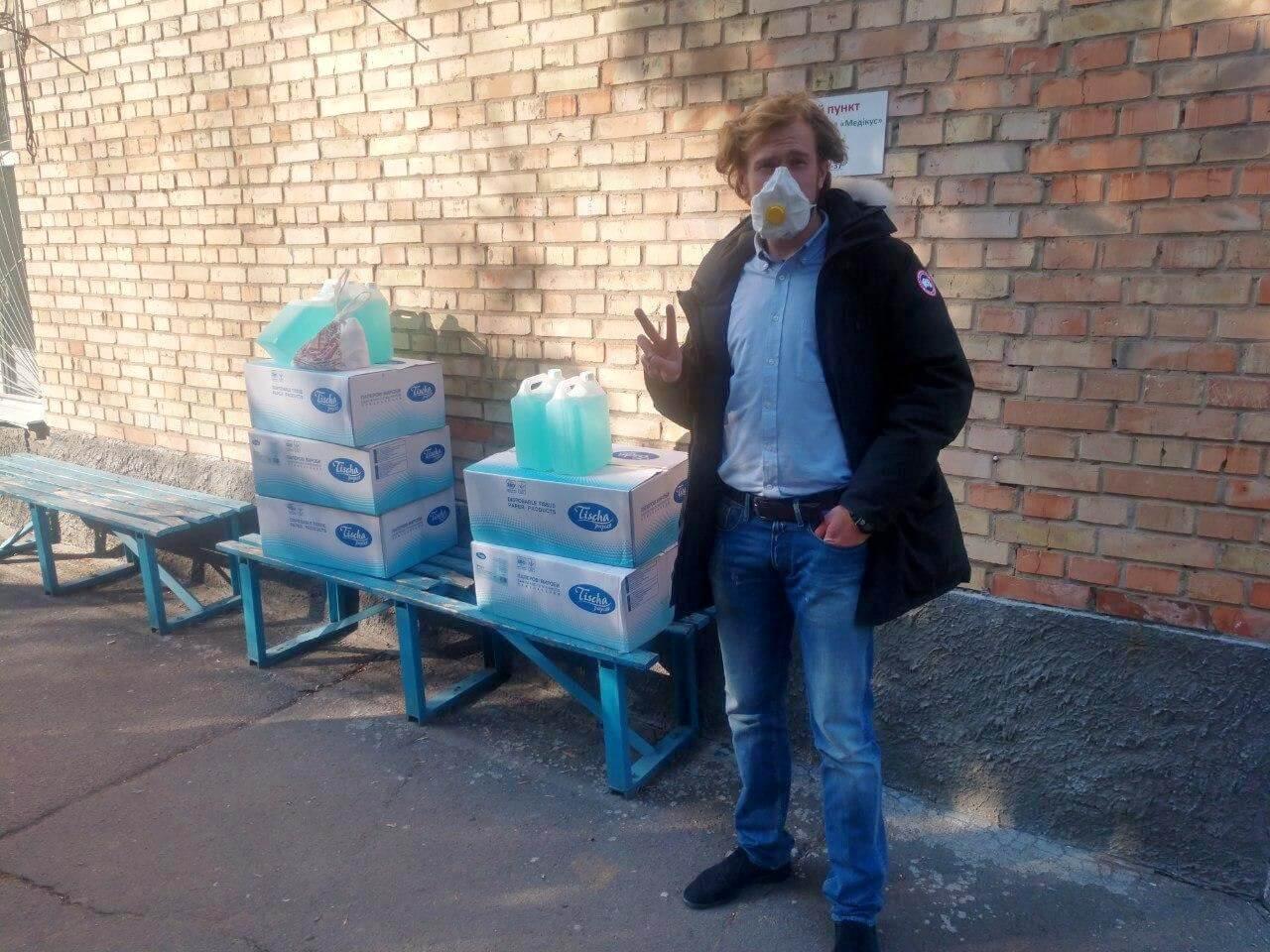 киевская ячейка партии шария помогает медикам - фото