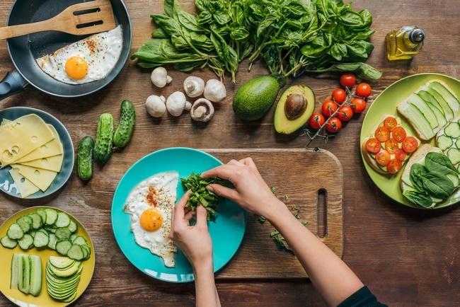 сбалансированное питание вегетарианца - меню на неделю