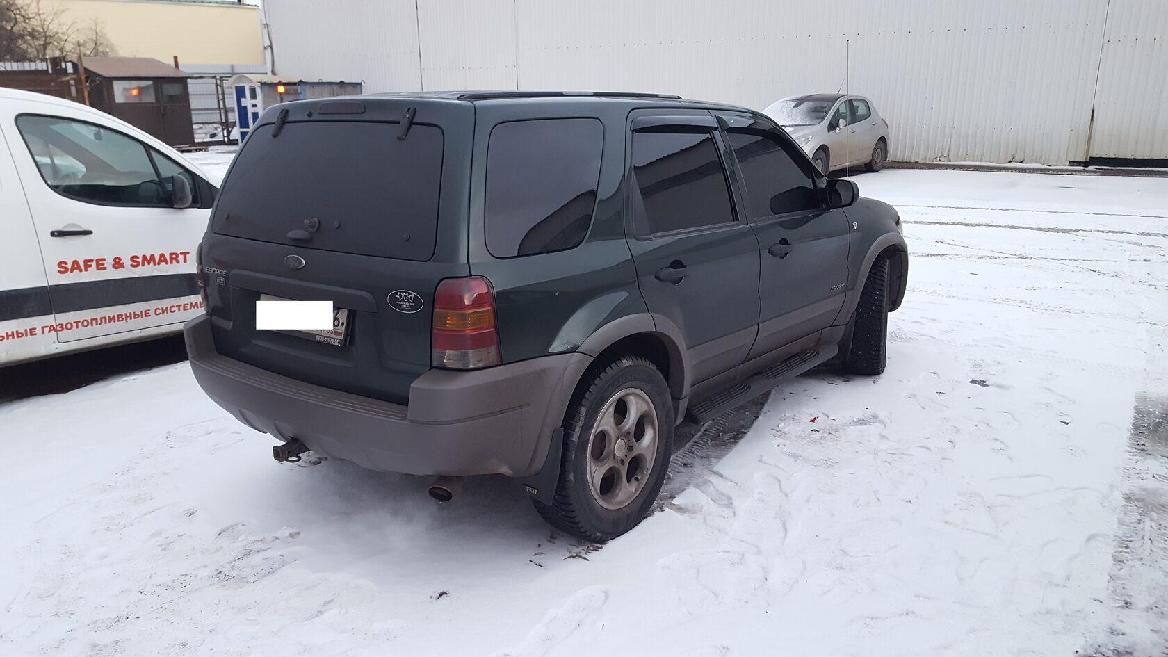 ford escape car audio