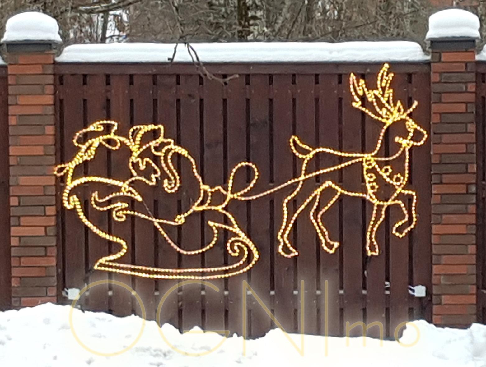 расскажем какие как украсить забор на новый год фото процесс заключается плавном