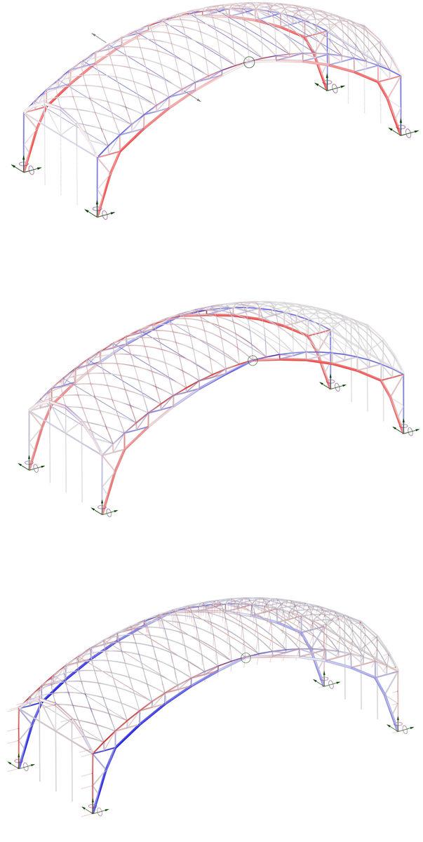 расчетная модель листопрокатного цеха в Выксе