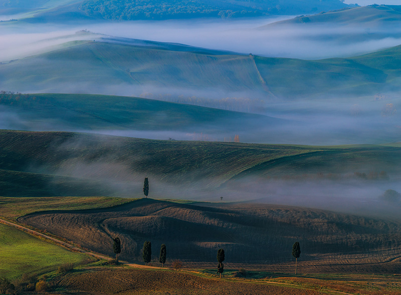 Autumn fogs in the Tuscany Photography Workshop