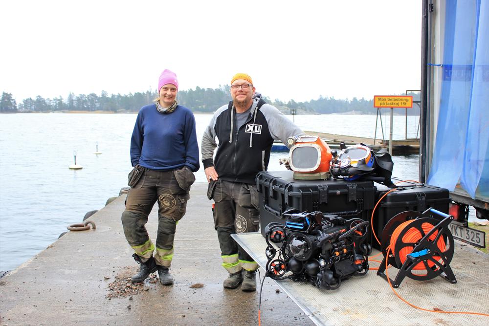 Oceanbotics ROV till Burmans Dykservice