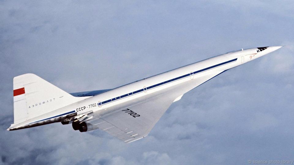 Ту-144 легендарный самолёт