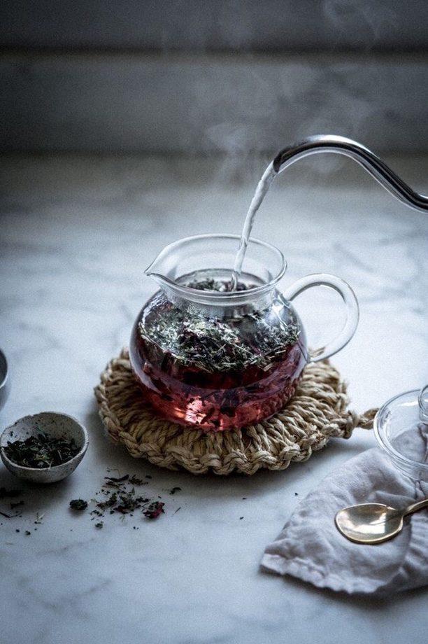 как сделать чай из веток плодовых деревьев