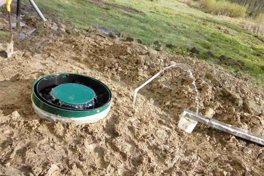 Якорное устройство для септика при грунтовых водах