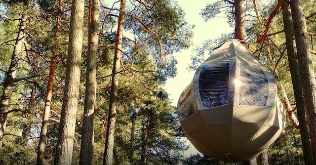 подвесной люкс-шатер