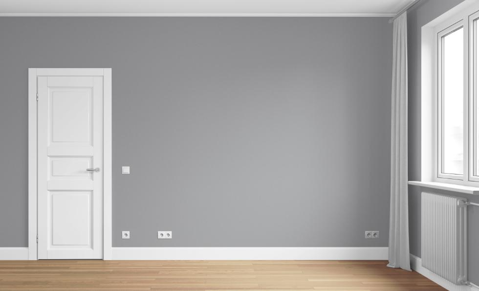 аватар белые двери модерн на серой стене фото поражает своим изяществом