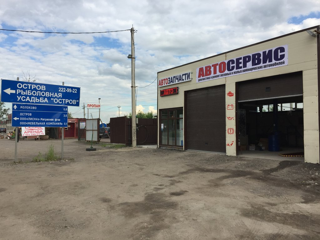 Автосервис «Mitolex» – Володарское шоссе, поворот на усадьбу «Остров»