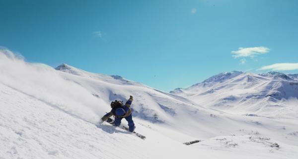 Хели ски на Камчатке