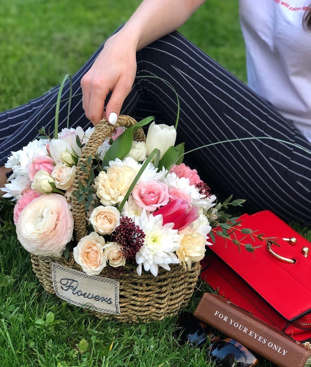 Букеты цветов в алматы, купить цветы