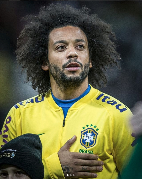 Marcelo – Real Madrid -26.1 milliοn followers