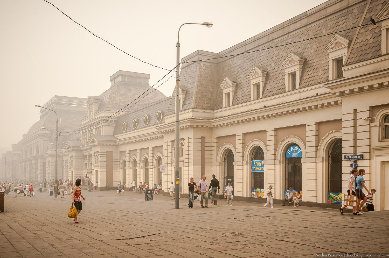 фотография павелецкого вокзала отделяемую часть