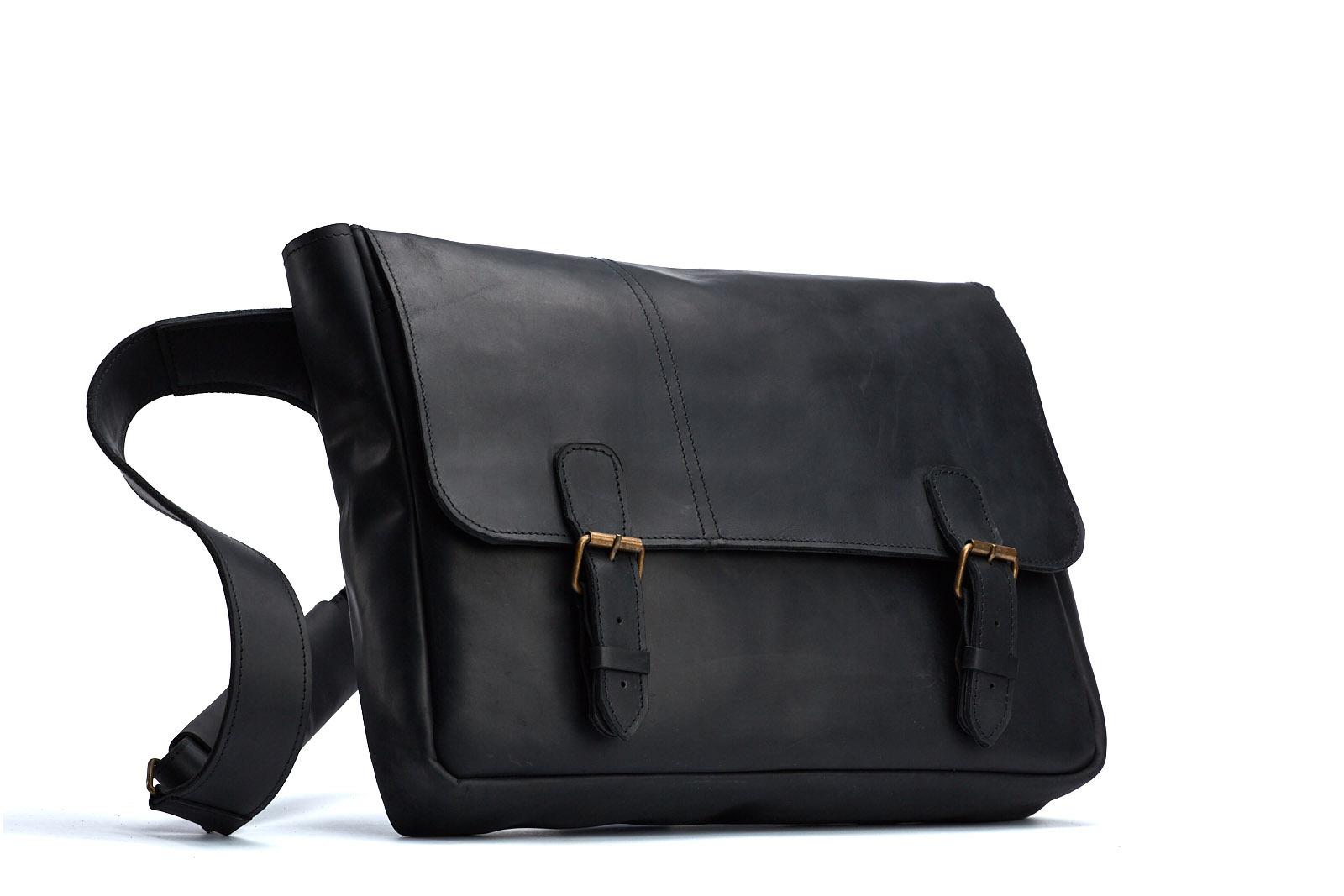 Шкіряна сумка FOREIGNER | Shuflia