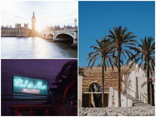 Лондон и Майорка в ноябре