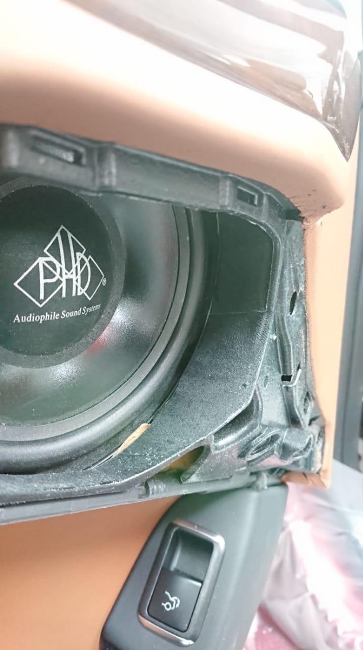 мидбасы сч динмиков PHD CF 5 в Mercedes