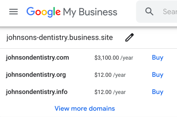 find available domains and prices