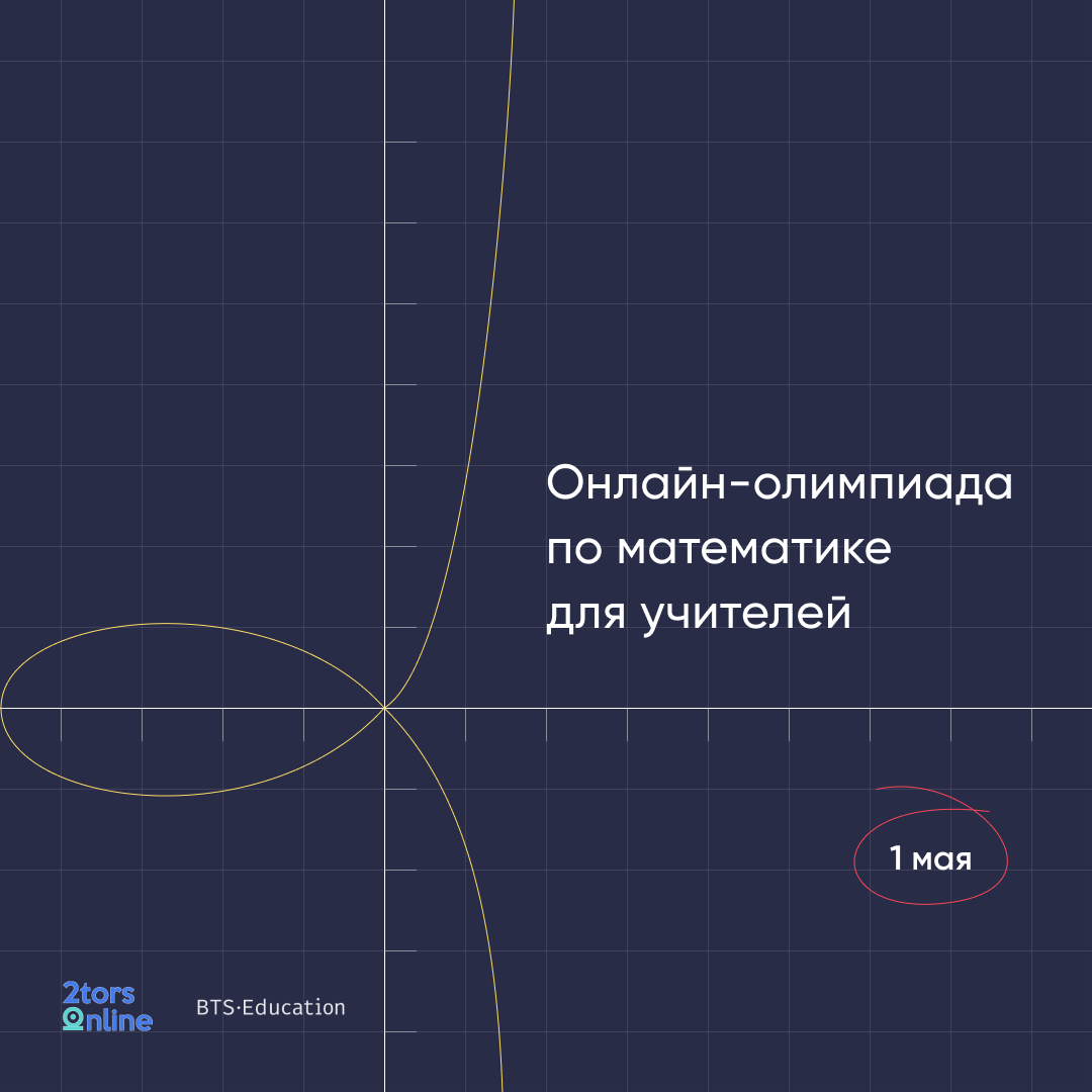 Онлайн олимпиада для учителей по математике