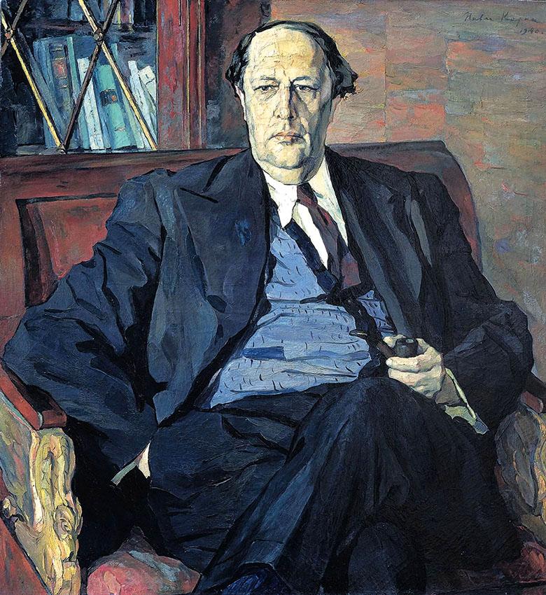 Павел Корин. ПортретА.Н.Толстого (1940).