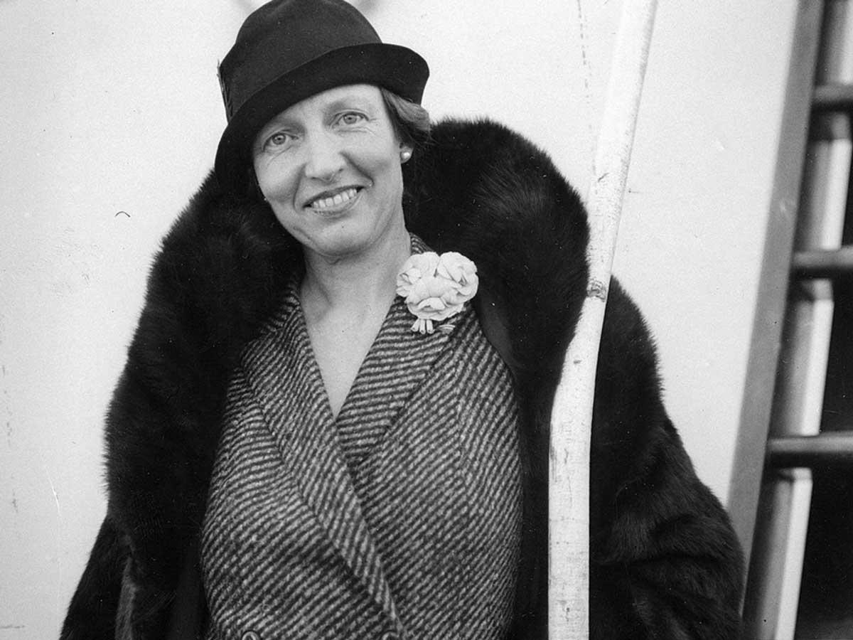 Луиза Бойд - исследовательница Арктики, первая женщина, пролетевшая над Северным Полюсом
