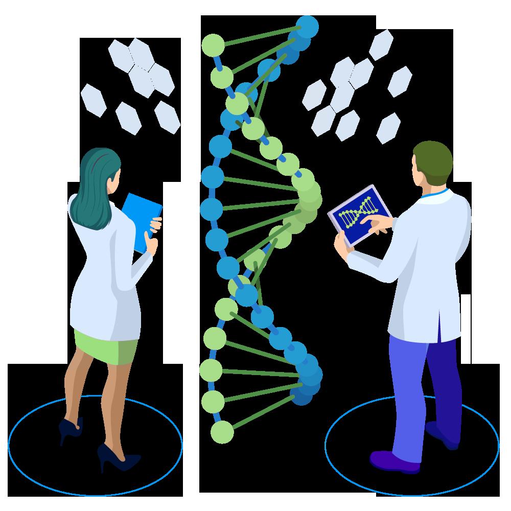 Генетика в картинках для детей