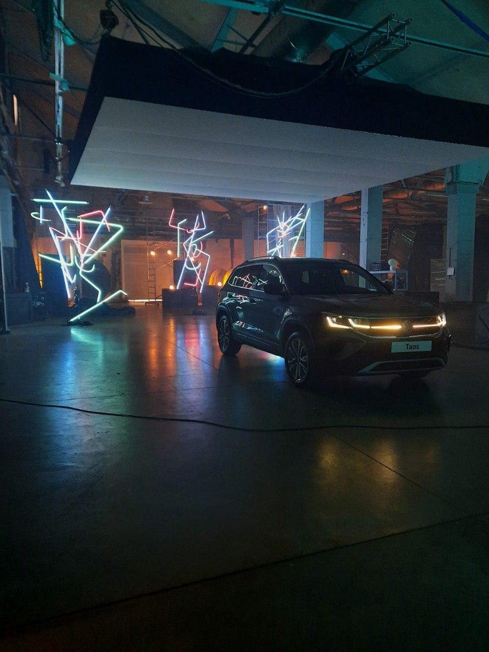 Съемка рекламы для Volkswagen