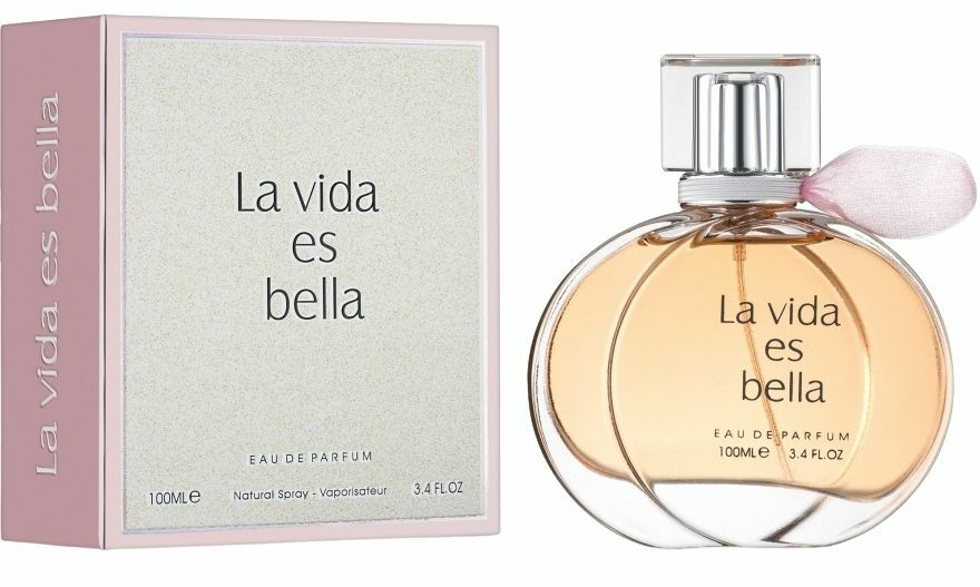 La Vida Es Bella by Fragrance World - Arabian, Western and Middle East Perfumes - Muskat Gift Shop Kenya