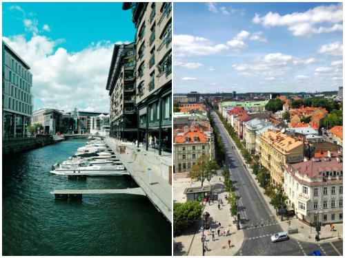 Вильнюс и Осло в октябре