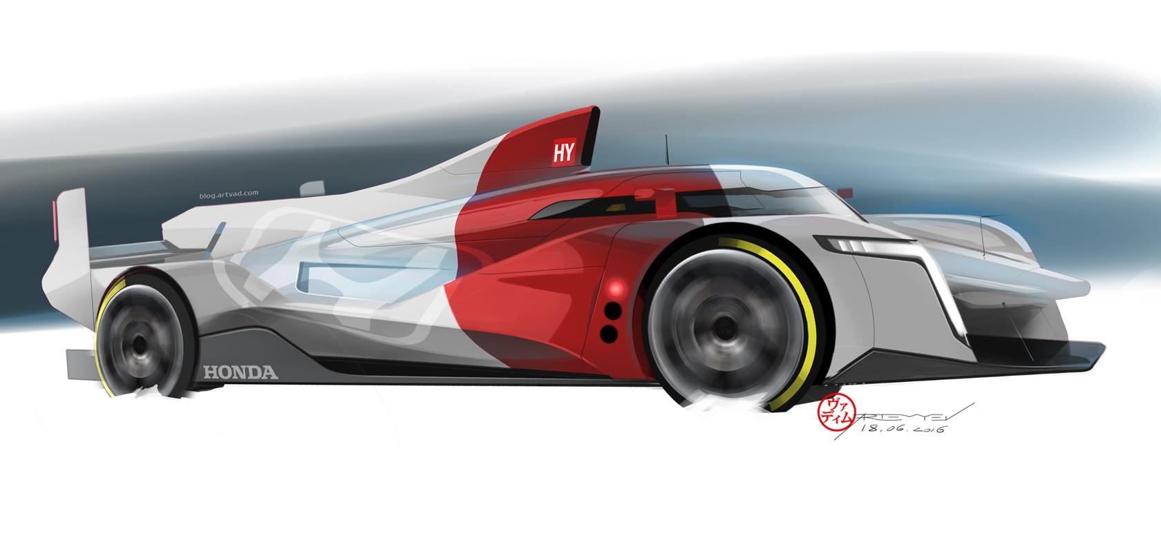Honda WEC LMP1 Prototype