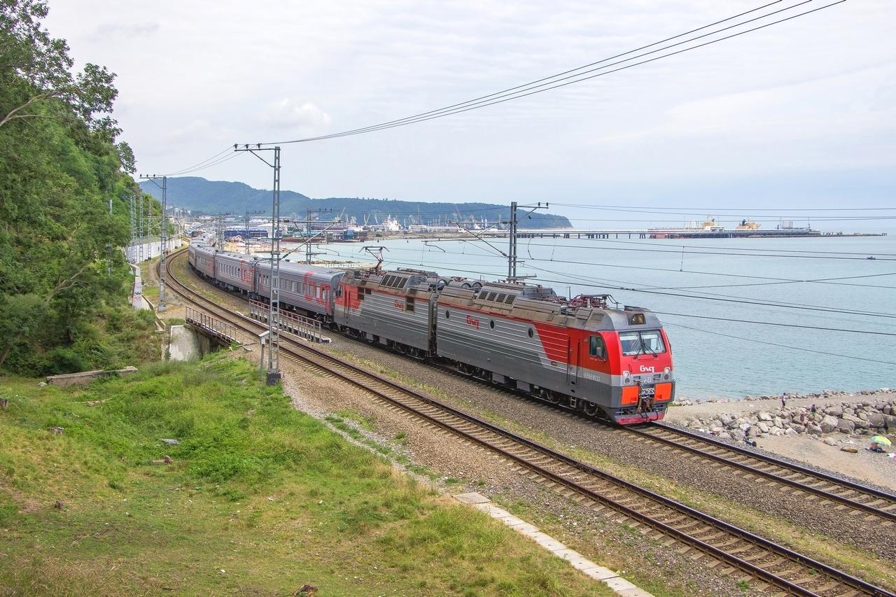 Поезд Саратов - Туапсе