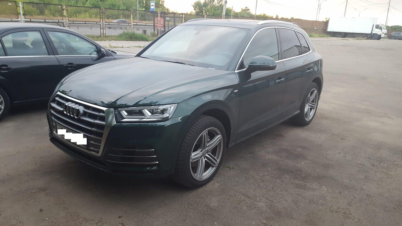 автозвук Audi Q5 2 fy