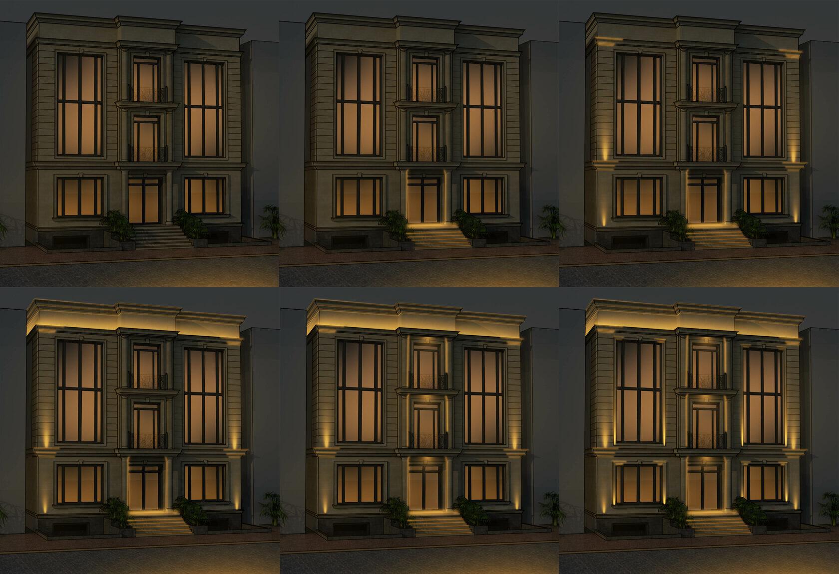 Сценарии освещения