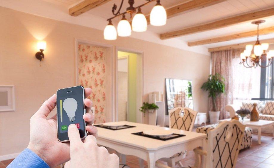 Управление освещением умного дома