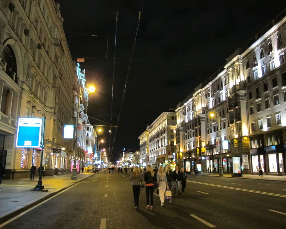QULON street lighting control system in Moscow