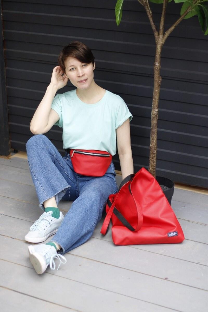 Поясная сумка и шоппер Vokladki