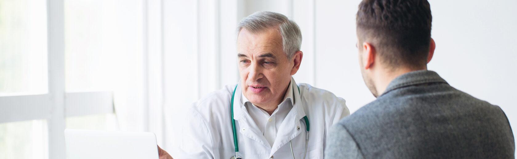 беседа доктора и пациента