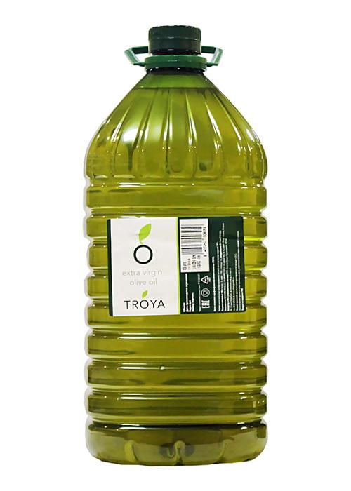 Масло, оливковое, экстра-верджин, ТРОЯ, 5 л