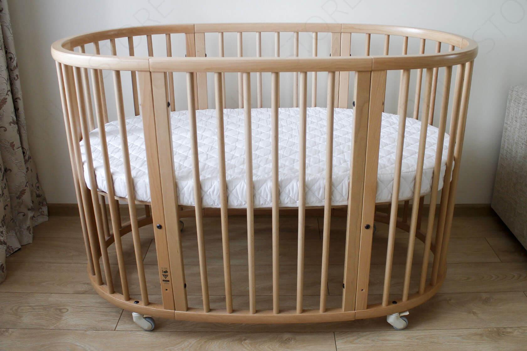 Matras Stokke Sleepi : Овальная кроватка трансформер аналог stokke sleepi цена